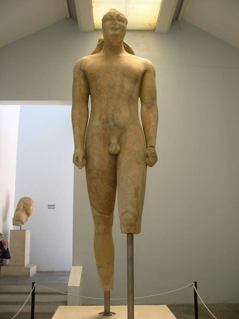 museum kouros