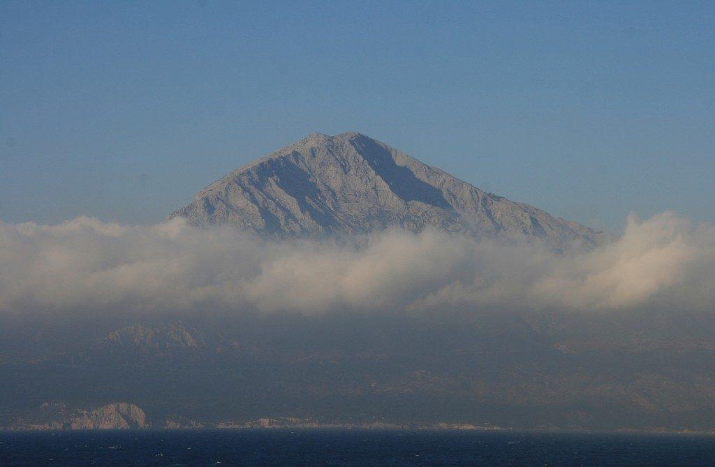 Το βουνό Κέρκης σε ομίχλη