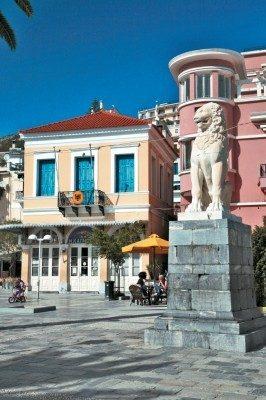 Lion of Samos