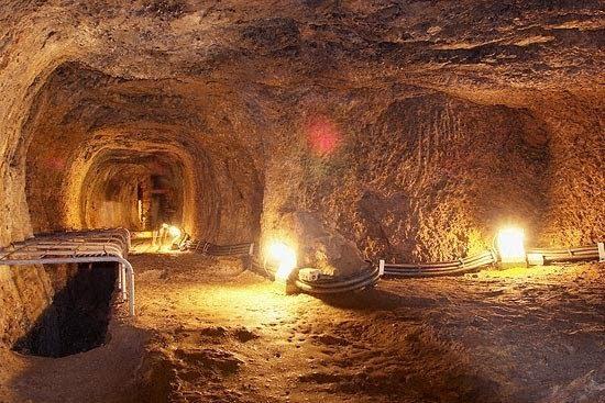 The tunnel of Efpalinos