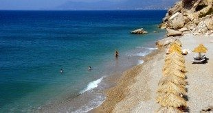 Samos beaches. Kaladakia