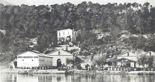 The Wine Factory (Tavern) of John Nikolareizis in Malagari (Picture of 1906)