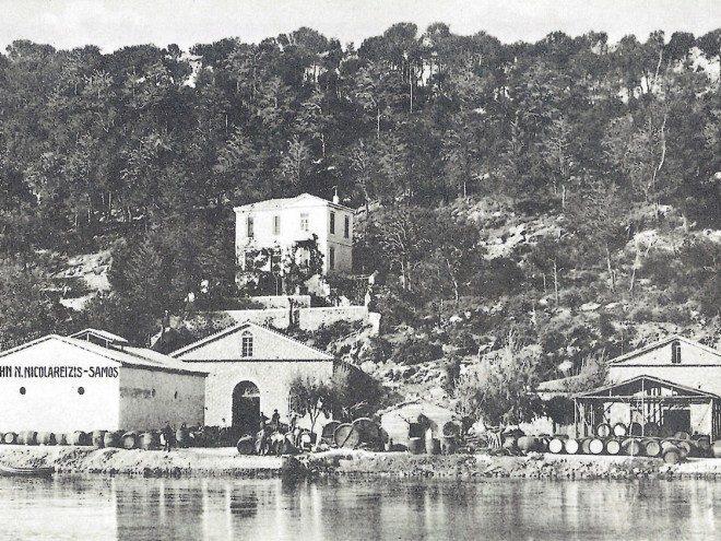 Το εργοστάσιο οίνων του Τζων Νικολαρεΐζη στο Μαλαγάρι - The Wine Factory of John Nikolareizis