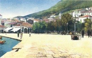 Η πλατεία Πυθαγόρα το 1904 - Pythagoras Square 1904