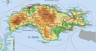 Χάρτης Σάμου