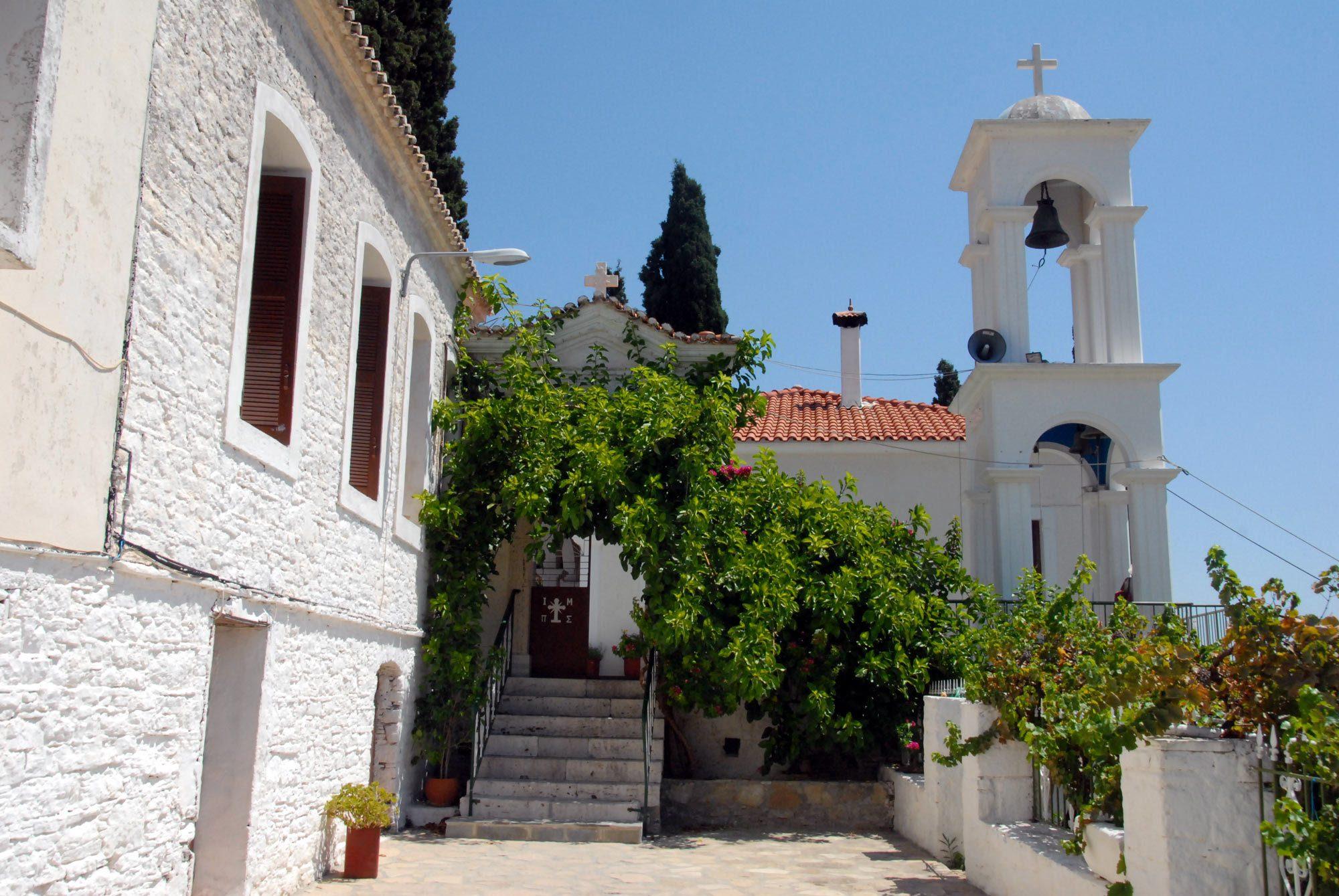 Μοναστήρι της Παναγίας Σπηλιανής - iSamos.gr