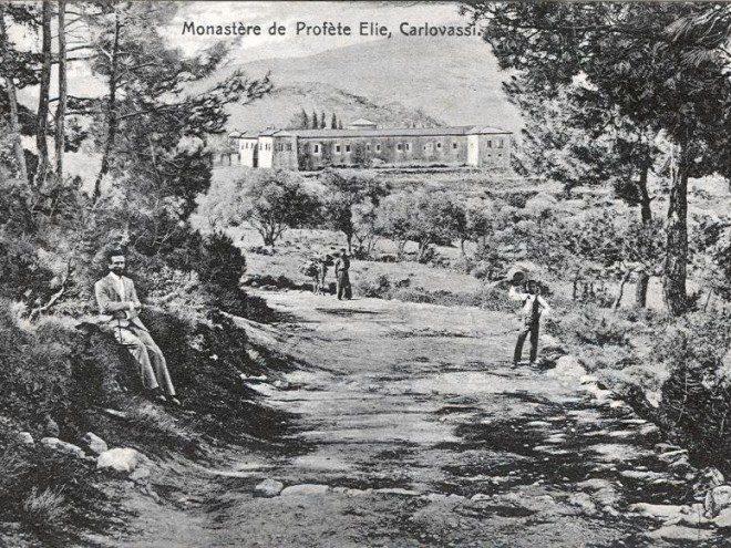 Η Ιερά μονή Προφήτη Ηλία - The Holy Monastery of Prophet Elias