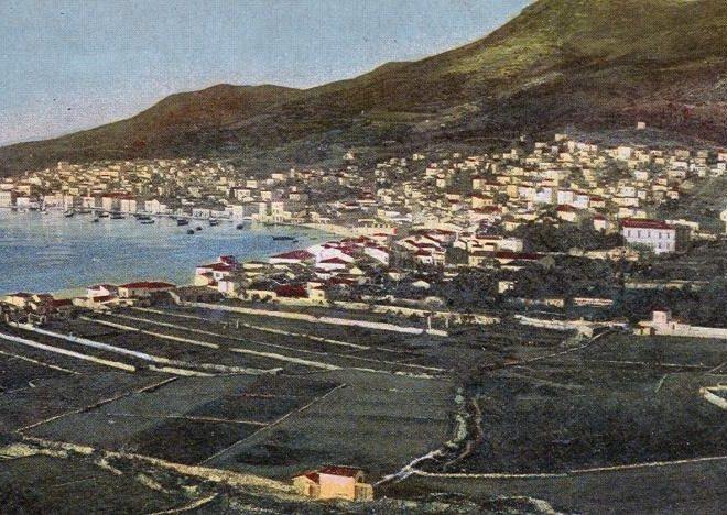 Αποψη της Σάμου 1905-1907