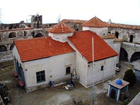 Monastery of Vrontiani, old photo