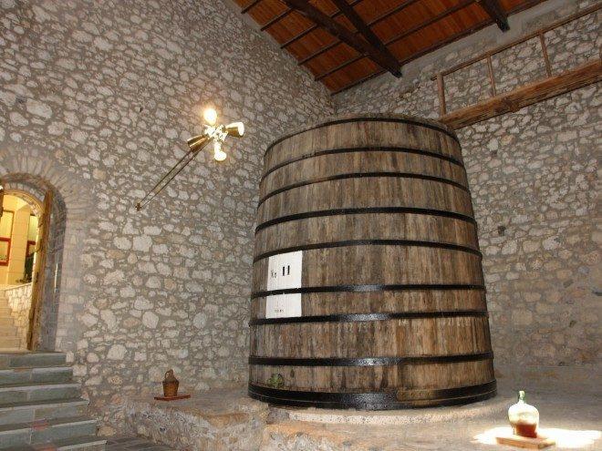 Το Μουσείο οίνου - Wine Museum of Samos