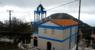 Το χωριό Κοσμαδαίοι. Η εκκλησία - Kosmadei village
