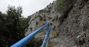 Η διαδρομή στο Κακοπέρατο -  Kakoperato gorge