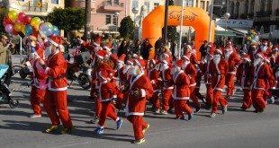 Santa run στη Σάμο, Κυριακή 27 Δεκεμβρίου 2015
