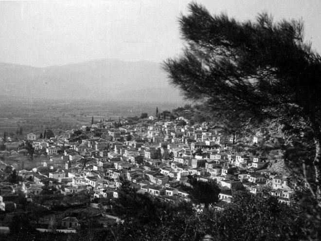 Φωτογραφία της ημέρας. Χώρα Σάμου τη δεκαετία του 50