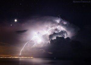 Καταιγίδα κάτω από τα αστέρια
