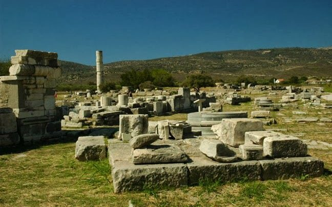Ελληνικά Μνημεία. Ηραίον Σάμου. Ireon Samos