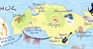 Samos Map