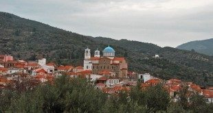 Παγώνδας, άποψη του χωριού, Pagondas