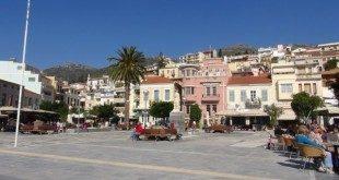 Πλατεία Πυθαγόρα. Αφιέρωμα στη Σάμο - A Tribute to Samos