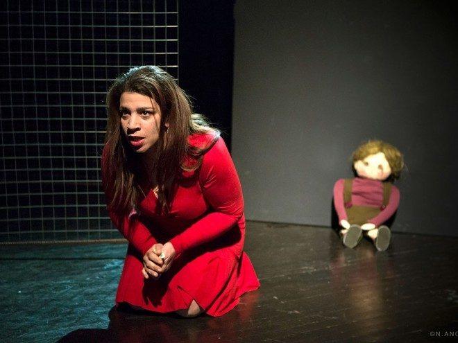 Η παράσταση Βόυτσεκ από τη θεατρική ομάδα Σάμου
