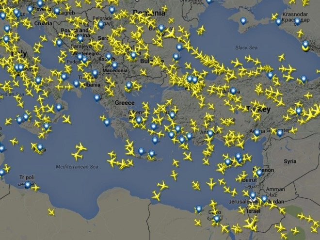 Flightradar24: Live air traffic from around the world   iSamos.gr