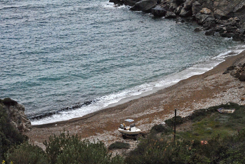 Παλαιοχώρι. Προσωπική παραλία