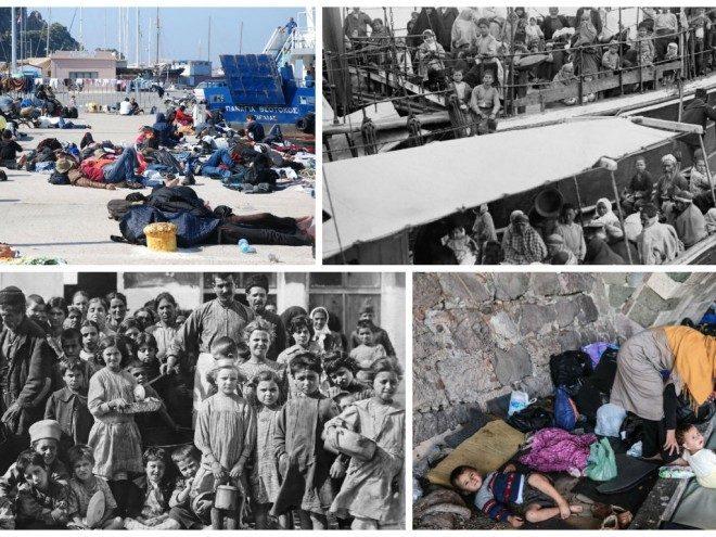 Πρόσφυγες στη Σάμο. Ιστορία και παρόν