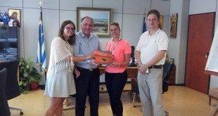 Στελέχη του τουριστικού οργανισμού της Ολλανδίας D-REISEN  στη Σάμο