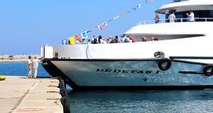 Το πλοίο της γραμμής Καρλόβασι - Τουρκία