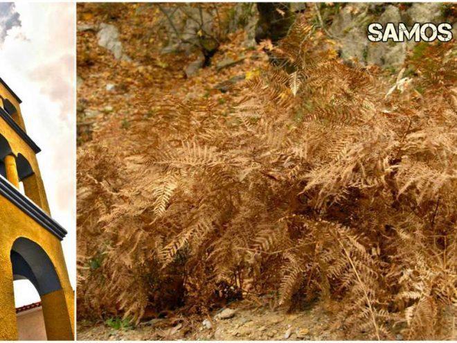 Τα ωραιότερα φθινοπωρινά τοπία της Σάμου